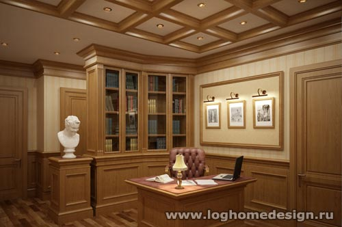 office paneling. office interior paneling